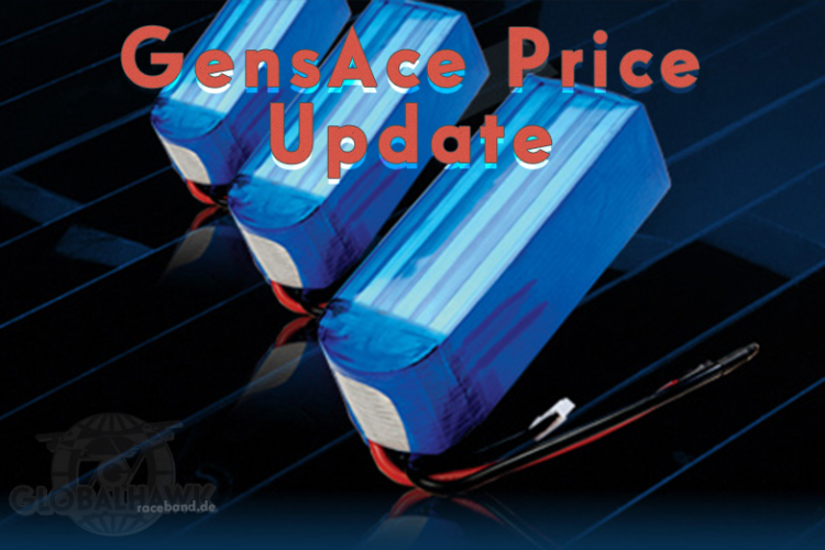 Info: GensAce Price-Update