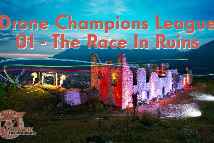 Drone Champions League – 01 Race in ruins
